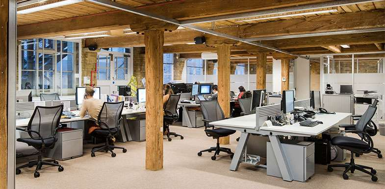 pros and cons of open plan layout office profile